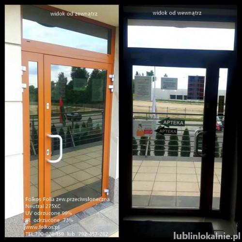 Lublin Folia przeciwsłoneczna zewnetrzna Neutral 275XC - Redukcja IR 73% ,Redukcja UV 99% -folie na okna, drzwi, witryny...