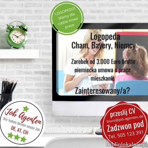 Oferta pracy dla Logopedy w Bawarii