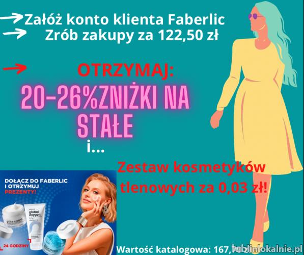 Załóż konto klienta uprzywilejowanego Faberlic!