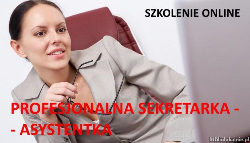 Profesjonalna sekretarka  asystentka