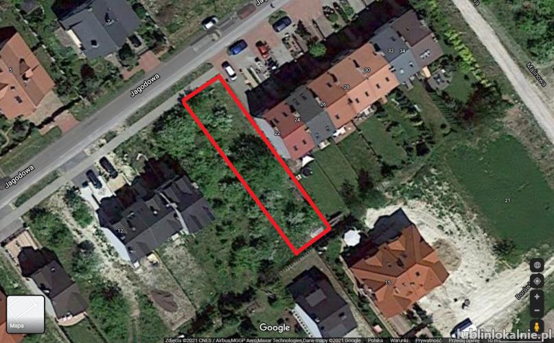 Sprzedam działkę - Lublin - Turka(osiedle Borek)