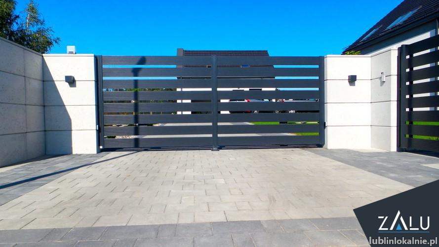 Produkcja i montaż ogrodzeń aluminiowych