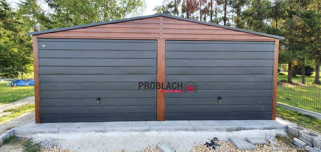 Garaż blaszany 6x5 producent WYBIERZ JAKOŚĆ inne wymiary i kolory