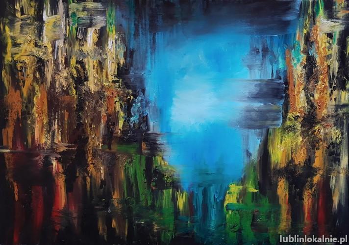 Kompozycja Abstrakcyjna nr.2 - Sprzedam obraz Abstrakcyjny