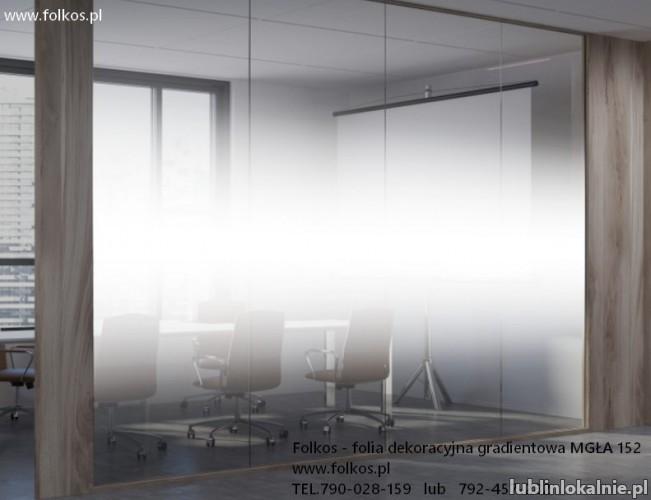 Folie okienne Lublin -Oklejanie szyb ,sprzedaż folii okiennych