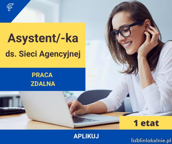 Asystent ds. Sieci Agencyjnej